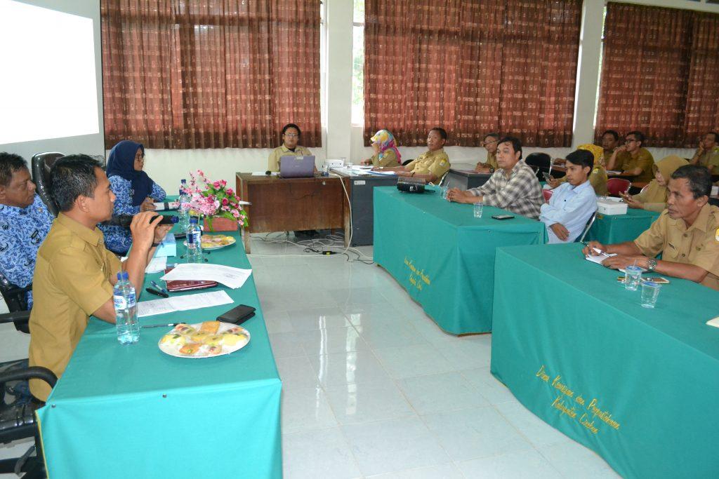 Dinas Kearsipan dan Perpustakaan Kab. Cirebon Gelar Forum SKPD